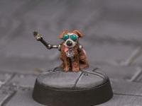 Wonky Dog Sci-fi Conversion Painted